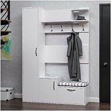 Homemania - Mueble de Pasillo Seina - con