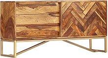 Hommoo Aparador de madera maciza de sheesham