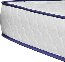 Hommoo Colchón viscoelástico 200 x 90 x 17 cm