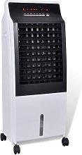 Hommoo Enfriador de aire ventilador purificador