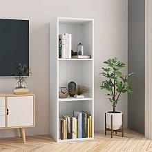 Hommoo Estantería de libros/mueble TV aglomerado
