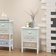Hommoo Mueble de almacenaje estilo francés 3
