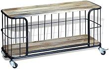 Hommoo Mueble para la televisión de madera de