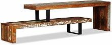 Hommoo Mueble para la televisón de madera maciza
