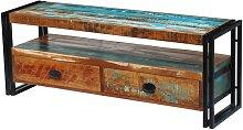 Hommoo Mueble para la TV de madera maciza reciclada