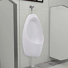 Hommoo Urinario de pared con sistema de descarga