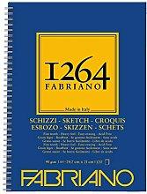 Honsell 19100635 Fabriano Schizzi 1264 - Bloc de