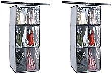 Honton 2 bolsas de almacenamiento para colgar en
