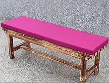 Hruile Cojín impermeable para silla de banco de 2