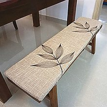 Hruile Cojín para silla de banco de 2 o 3 plazas,