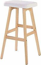 hsj WDX- Bar Stool - Taburete creativo de madera