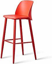 hsj WDX- Taburete de bar moderno minimalista silla