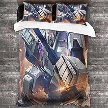 HUA JIE Juego de sábanas de 3 Piezas Optimus