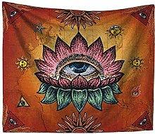 huahuagongzi Tapiz De Pared India Mandala Decor