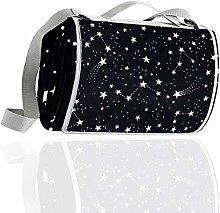 HUI JIN Constellations And Stars - Manta de picnic