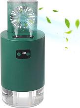 Humidificador con ventilador de elevacion,