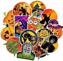 HUNSHA 50 Halloween Doodle pegatinas portátil