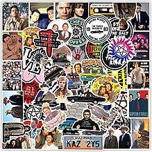 HUNSHA 50 piezas de graffiti drama americano