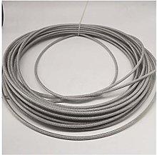 HXYIYG Cuerda De Alambre,Cuerda De Acero 5mm 10M