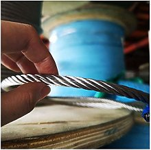 HXYIYG Cuerda De Alambre,Cuerda De Acero 8mm 5