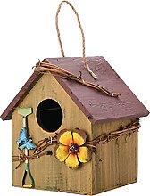 HYKITDAY Casas de pájaros de madera, casas de