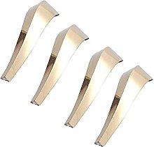 HZYDD Patas de metal para sofá, patas de mesa,