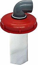 IBC Tapa de tanque de nailon con orificio de