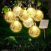Ibello Guirnaldas Luces Exterior Solar, 30 LED