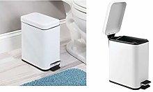 iDesign Cubo con tapa para la basura, papelera