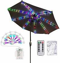 Iluminación de Parasol 1pcs luz de Paraguas LED