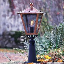 Iluminación de senderos Fenix en cobre, 66,5 cm