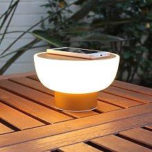 Iluminación decorativa LED exterior Patio oro 20cm