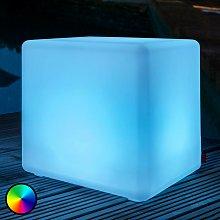 Iluminación LED exterior Cube Outdoor con batería