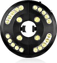 Iluminación LED para sombrilla de jardín, 24