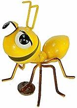 Imán de metal con diseño de hormigas en 5