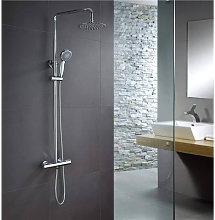 Imex® - Columna termostático ducha Imex Londres