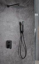 Imex® - Conjunto de ducha negro mate Dublín Imex
