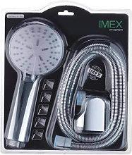 Imex® - Kit teleducha+flexo+soporte Imex