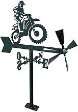 IMEX EL ZORRO 11276 - Veleta de jardín Motocross,