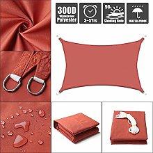 Impermeable 300D Óxido Rojo Cuadrado Rectángulo
