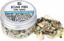 Incienso Copal Blanco - Resina Natural 15 gr -
