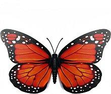 Inovey 10Pcs 12 Cm 3D Colorido Mariposa Wall