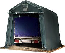 Intent24.fr - Carpa Garage 2,4 x 3,6 m PVC de alta