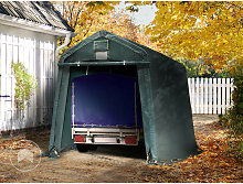 Intent24.fr - Carpa Garage 2,4 x 3,6 m PVC de alta