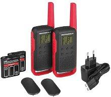 Intercomunicador walkie talkie Motorola T62 RED