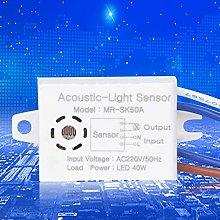 Interruptor de control de sonido, 220V MR-SK50A