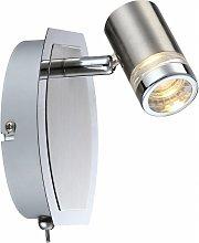 Interruptor de foco LED de aluminio carcasa de