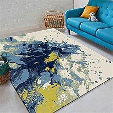 IRCATH Azul Amarillo Abstracto Pintura al óleo