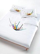 Italian Bed Sets de edredón Lino Multi Color