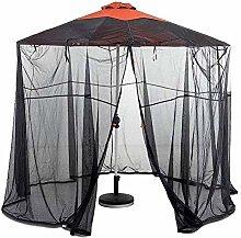 J-ouuo Paraguas de jardín pantalla de mesa